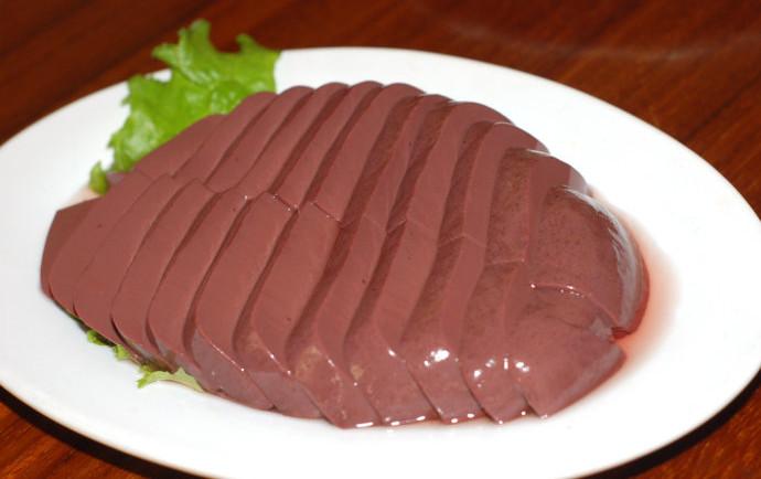 如何鉴别优质血豆腐?