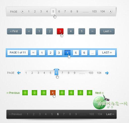 wordpress二次开发:文章分页样式代码