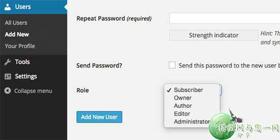 wordpress二次开发:如何修改默认角色的名称?
