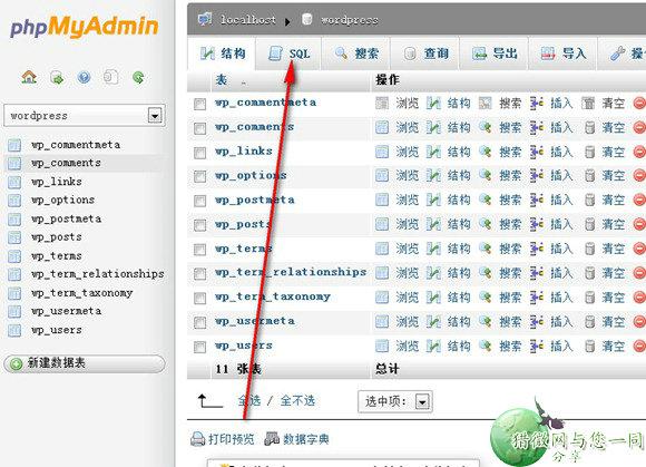 wordpress教程:网站更换域名的方法