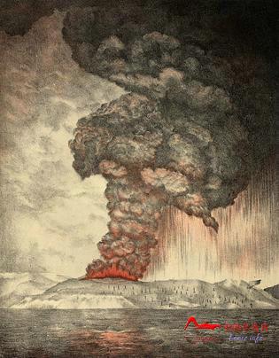 hs1 世界上最剧烈的十大火山喷发排行榜