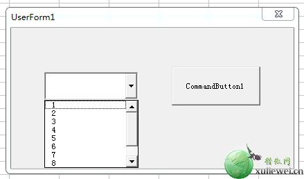 Excel VBA复合框的应用实例