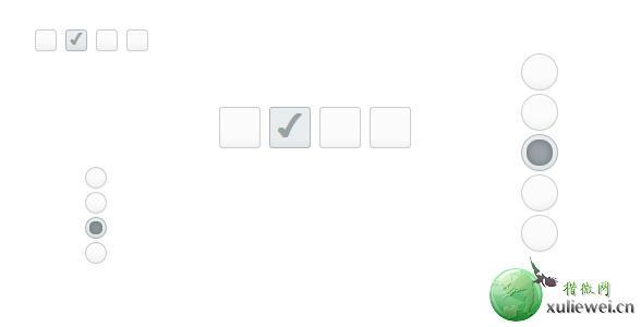 纯CSS3实现Checkbox和Radiobox按钮美化特效 外观时尚
