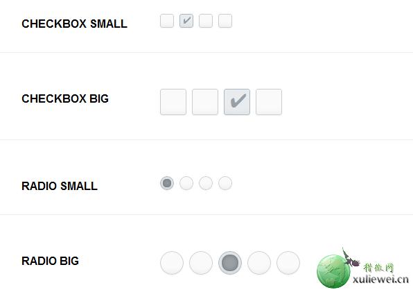 纯CSS3实现复选框和单选按钮美化特效
