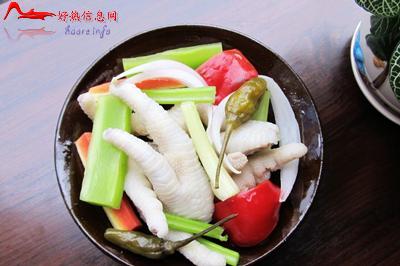 pjfz 川菜:四川泡椒凤爪