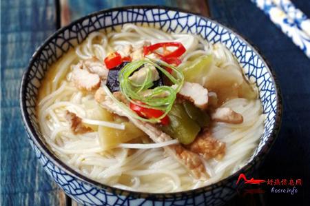 rszcmx 徽菜:肉丝榨菜米线