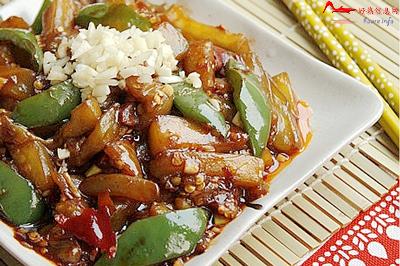 syyxqz 川菜:少油的鱼香茄子