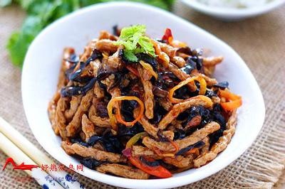 yxsrs 川菜:鱼香素肉丝
