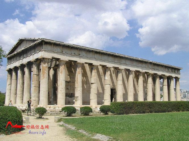 btnsd 世界十大奇迹:巴特农神殿