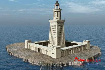 ylsddt 世界十大奇迹:亚历山大灯塔