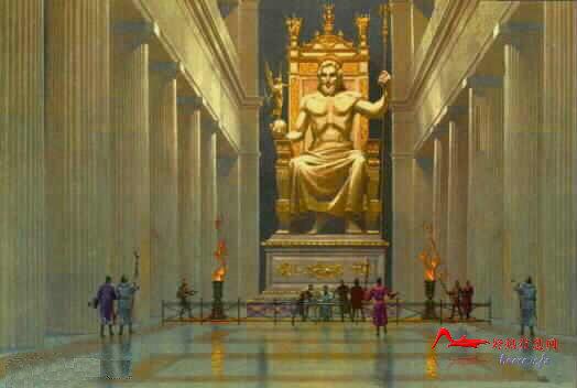 yssx 世界十大奇迹:宙斯神像