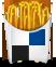 PNG图标:免费的薯条LOGO设计PNG图标素材