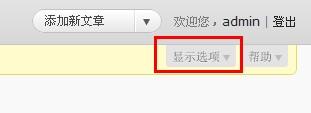 wordpress自定义栏目设置使用详解